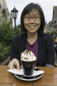 Un chocolat chaud by Jill K H Geoffrion