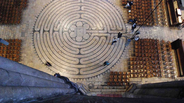 Labyrinth from above