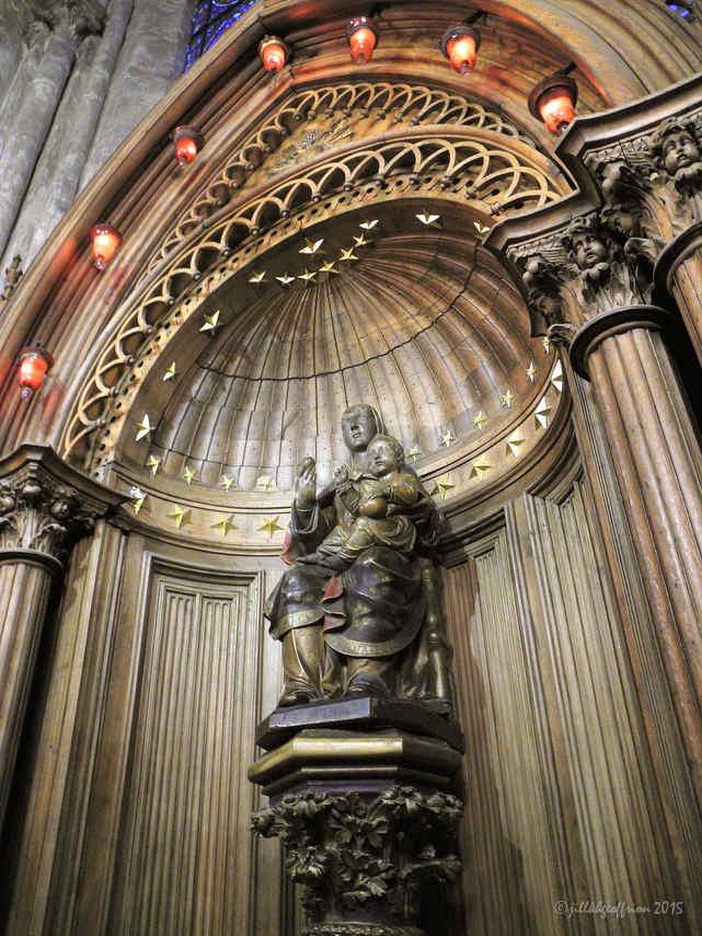 Pre-restoration Notre Dame du Pilier