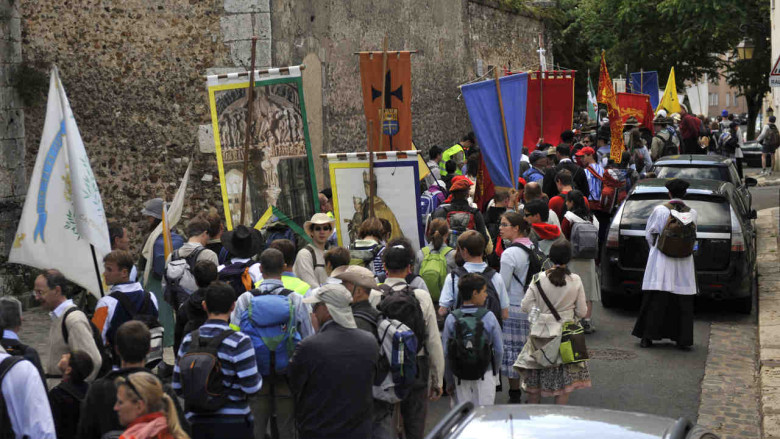 Youth Pilgrimage, Chartres