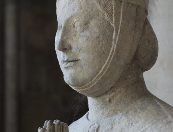 Woman Praying, Chartres