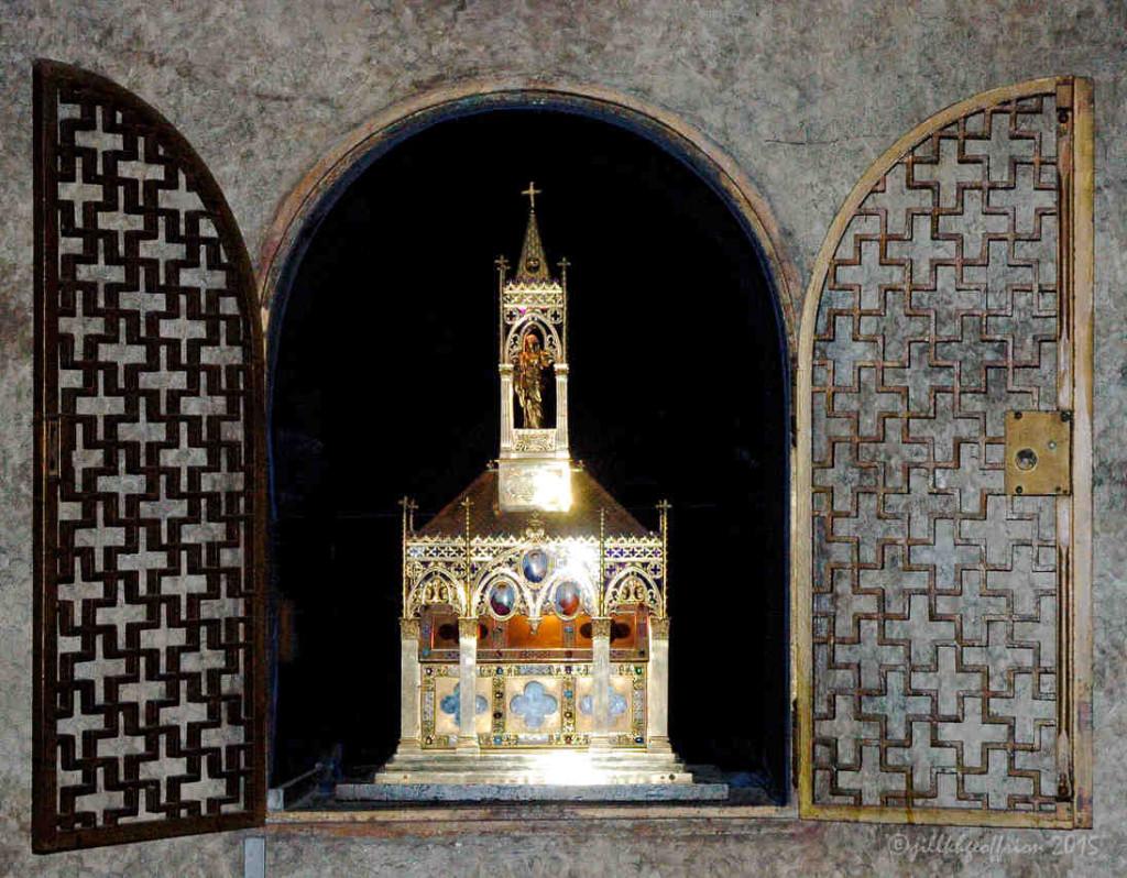 Small Veil Reliquary, Chapelle de Notre Dame Sous Terre