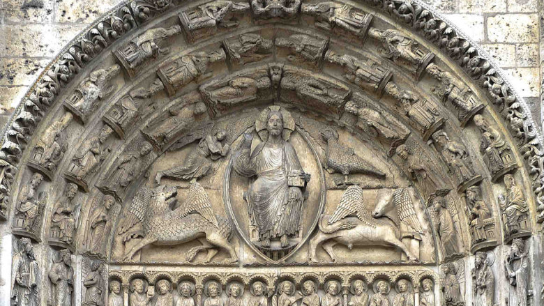 The west central tympanum