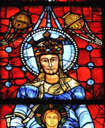 Notre Dame de la Belle Verrière avec Jésus