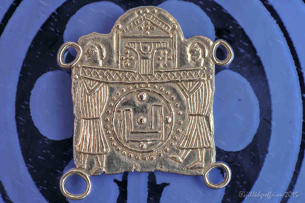 Medieval Pilgrimage Medal (Replica) Back