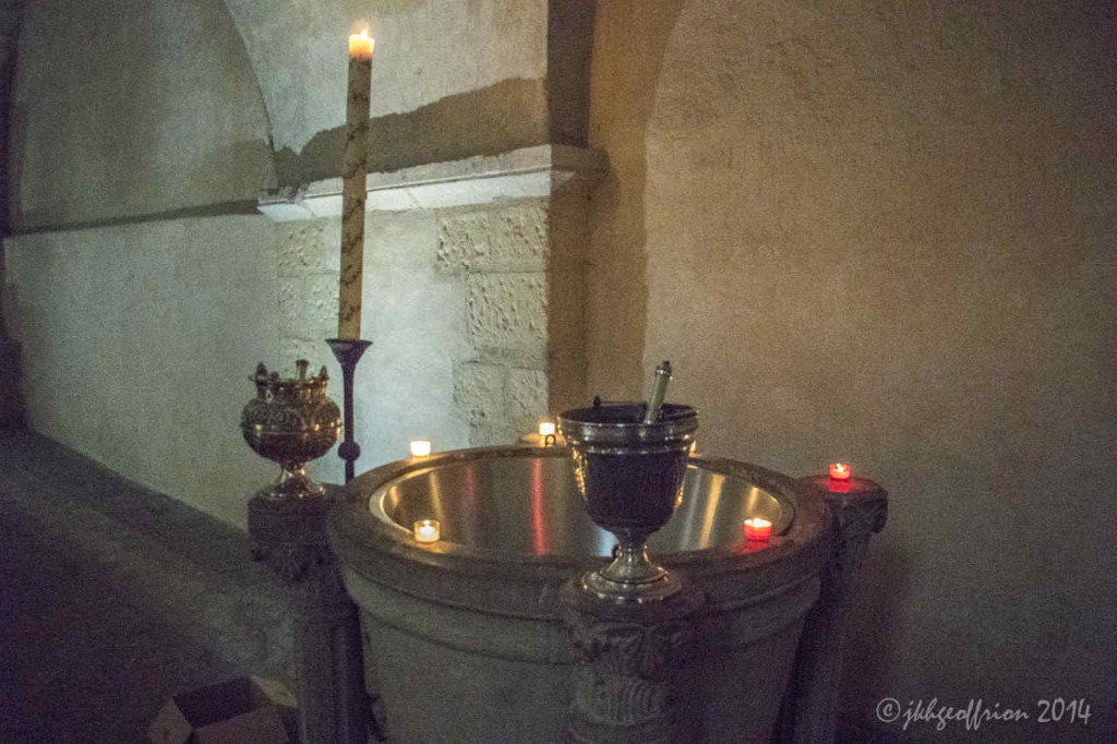 Baptistry, 12th century