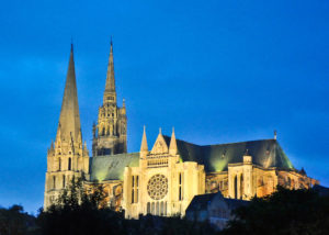 Nighttime Chartres